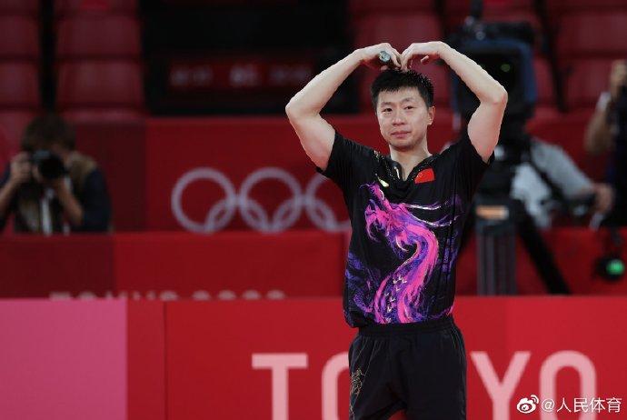 奥运冠军马龙